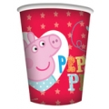 Peppa Pig Party Cups (8) - New red